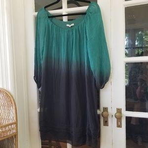 🆕️ Beautiful Silk Ombre Dress